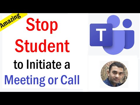 Preventing Attendees From Starting Meeting Before Organizer | Prevent Students from starting meeting