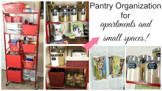 Pantry Organization For Small Spaces + Open Pantry Ideas   Miss Hope Elizabeth