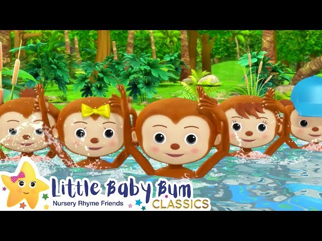 If You're Happy and You Know It Song - Nursery Rhymes -ABCs and 123s - Little Baby Bum