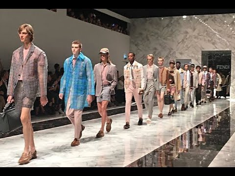 Fendi | Menswear | Milan Fashion Week | Spring/Summer 2018