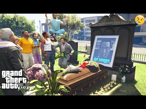 GTA 5 - I Attended TOMMY VERCETTI'S FUNERAL (secret event)