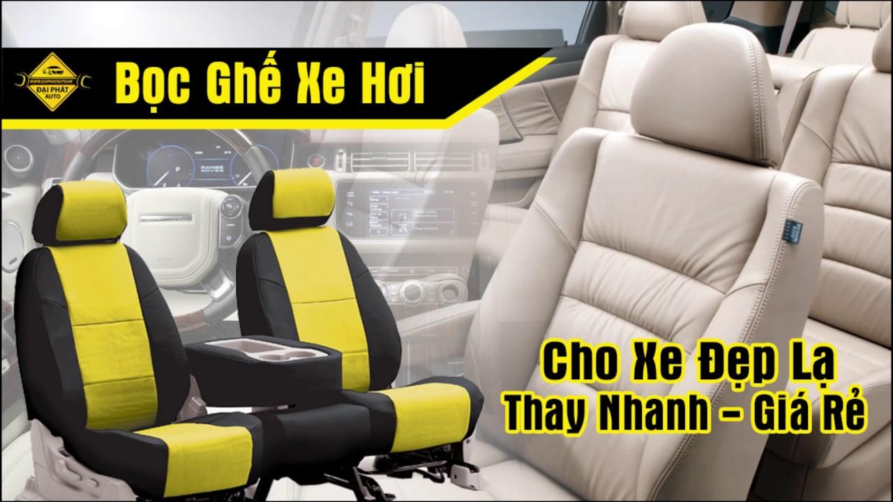Giá bán bọc áo ghế xe hơi ô tô cao cấp rẻ ở tphcm