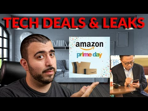 Best Tech Deals for Amazon Prime Day & Samsung CEO Leaks Galaxy Note 9 - YouTube Tech Guy