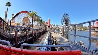 Incredicoaster Front Seat (4K POV) Disneyland Resort