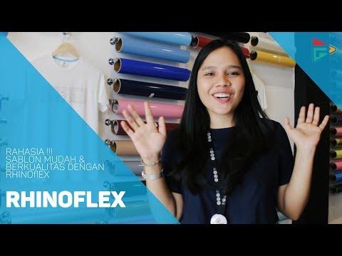 Rahasia Sablon Mudah & Berkualitas dengan Rhinoflex