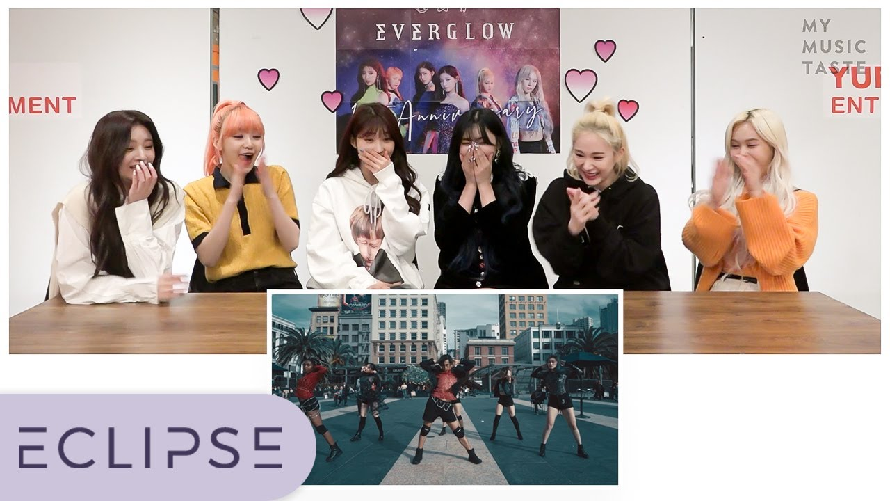 EVERGLOW REACTED TO OUR COVER?! [ENG SUB] [ECLIPSE]
