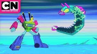 Rockstars Turning Into Transformers | Teen Titans GO! Night Begins to Shine