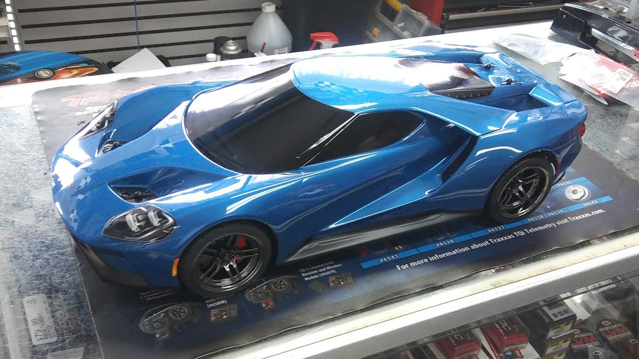 Traxxas Ford Gt  Th Scale Quick Look