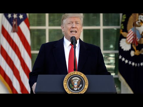 President Trump announces deal to temporarily reopen government