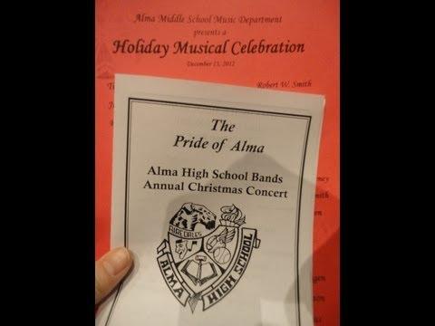 Alma High School Symphony Christmas Concert