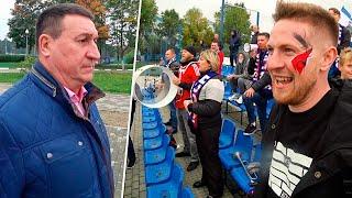Болельщики вступились за репрессированного блогера Глава федерации сбежал Крумкачы Ислочь