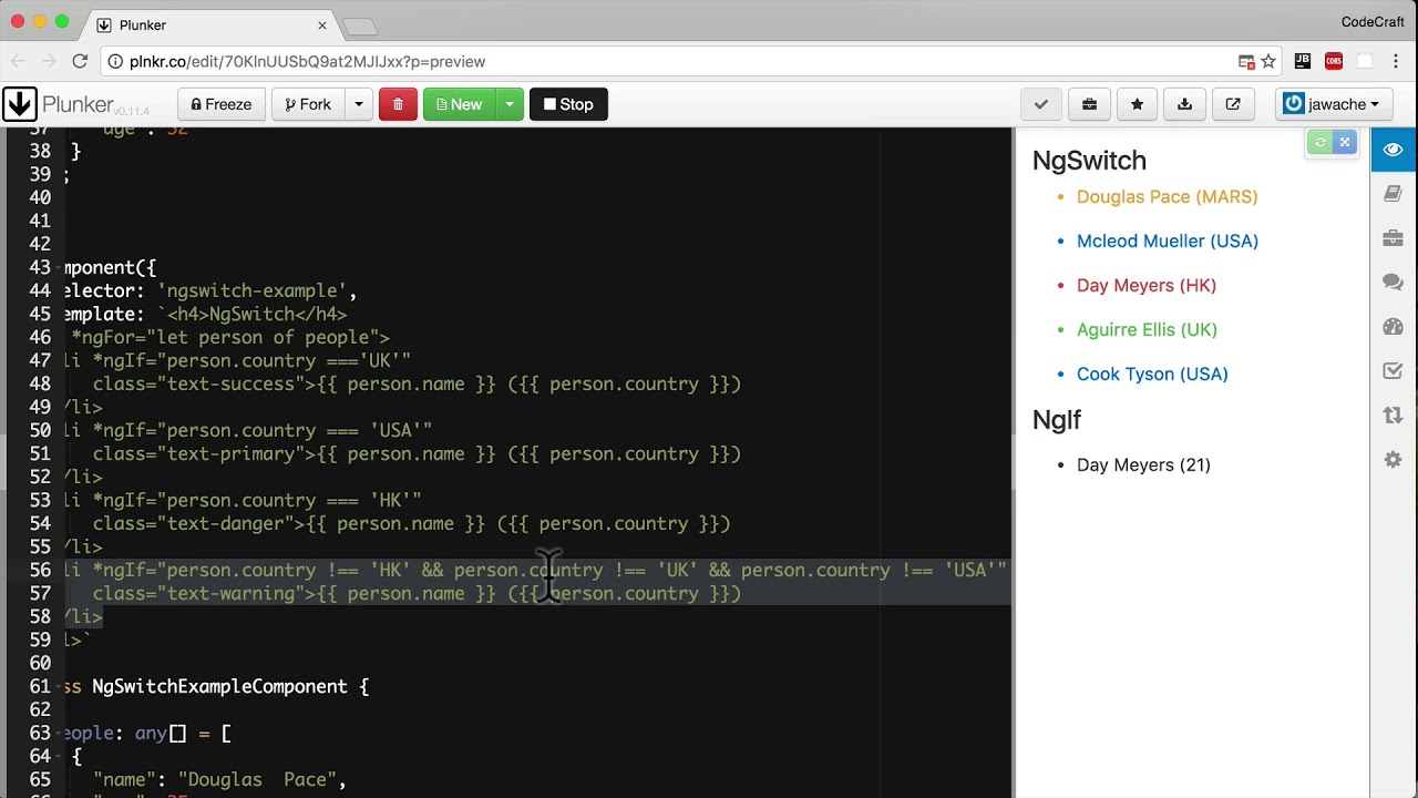 NgIf & NgSwitch • Angular