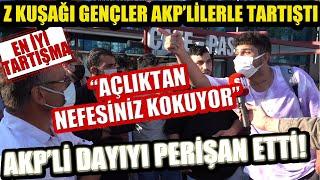 Z Kuşağı gençler AKP'li dayıyı perişan etti! Şimdiye kadar ki en iyi Z Kuşağı ta