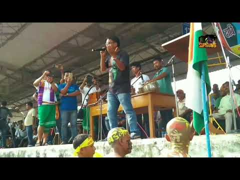 Bigrai Brahma Singing Bodo Patriotic Song