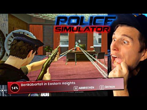 Der BANKÜBERFALL! | Polizei Simulator
