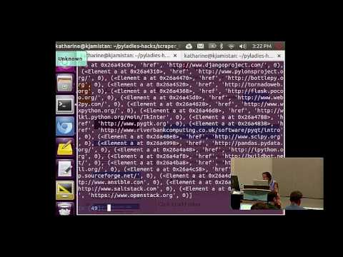 Katharine Jarmul: Introduction to Web (and data!) Scraping with Python - PyCon 2014