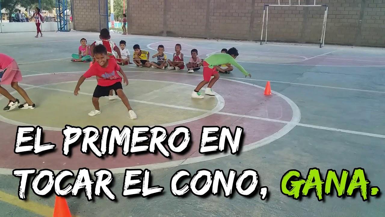 Juegos Para Educacion Fisica Parte 3 La Mejor Recopilación De Juegos Creativos Youtube