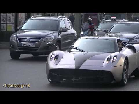 Pagani Huayra in Paris / Champs Elysees