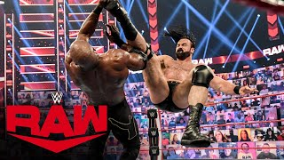 Drew McIntyre & Viking Raiders vs. Bobby Lashley, AJ Styles & Omos: Raw, June 14, 2021