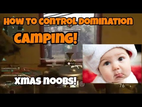 COD WW2 HOW TO CONTROL DOMINATION!  Camping for the win!