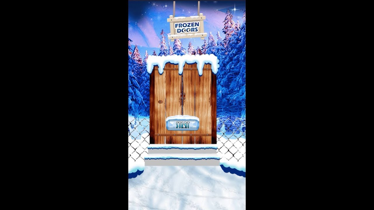 Frozen Doors Level 1 2 3 4 5 6 7 8 9 10 Walkthrough Youtube