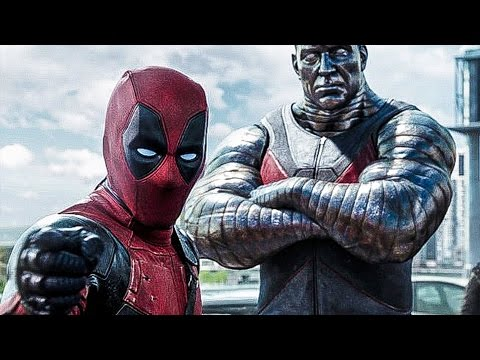 Deadpool Trailer (2016) Marvel (Deadpool Movie Trailer 1+2)