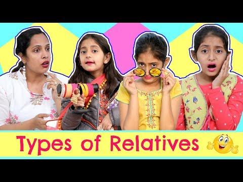 TYPES of RELATIVES ... | #RolePlay #Sketch #ShrutiArjunAnand #Anaysa #MyMissAnand