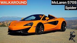 2019 McLaren 570S Spider WALKAROUND