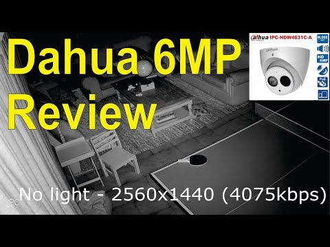 Unboxing and detailed technical review of the Dahua IPC-HDW4631C-A 6MP IP camera