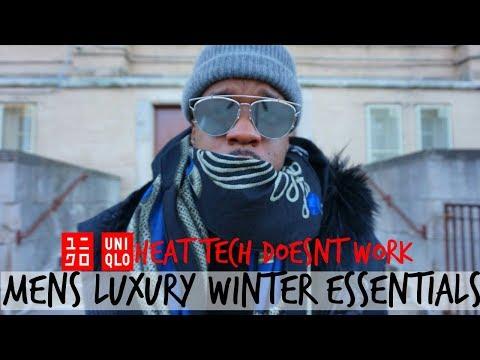 UNIQLO HEAT TECH DOESN'T WORK| Men's Luxury Winter Essentials feat. Saint Laurent, Hermes & More!!