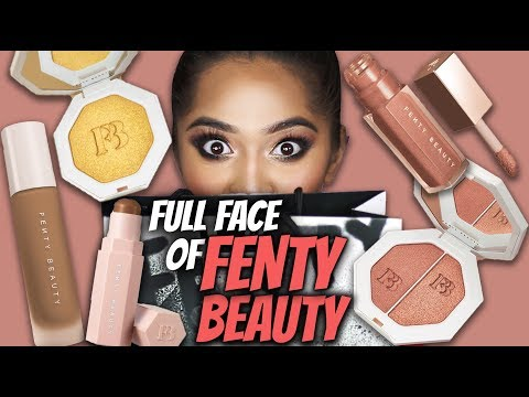 FENTY BEAUTY by RIHANNA! First Impressions, Review and Demo