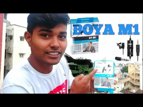 BOYA BY-M1_best budget mic for You tube-re _MIC i use - cheap__Boys m1 best audio
