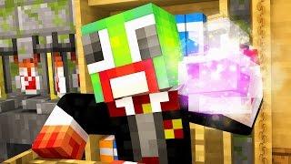 Minecraft Wizard High - SECRET POTION! (Day 3)