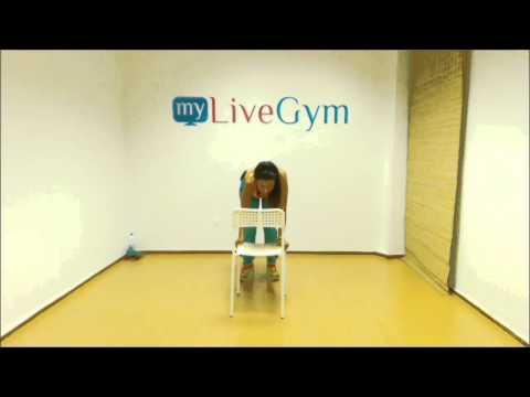 Ασκήσεις γυμναστικής με καρέκλα μόνο στο MyGym