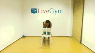 Baixar Ασκήσεις γυμναστικής με καρέκλα μόνο στο MyLiveGym!