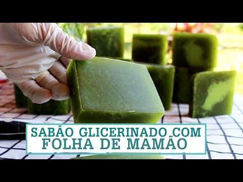 SUPER SABÃO GLICERINADO CASEIRO COM FOLHA DE MAMÃO – O MELHOR! Fran Adorno