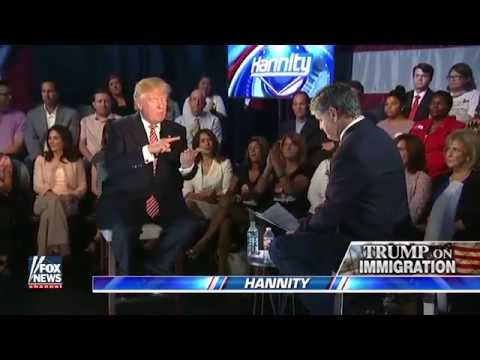 Jeb Bush vs Donald Trump on Immigrataion, Deportation and Path to Legal Status