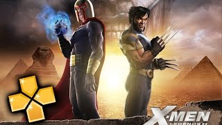 X-Men Legends II Rise Of Apocolypse PPSSPP Gameplay Full HD / 60FPS
