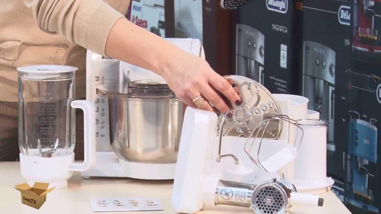 Кухонный комбайн Bosch MUM 4406 - YouTube