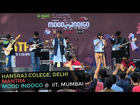 Hansraj College's Electrifying Hindi Band Performance | Mood Indigo 2016