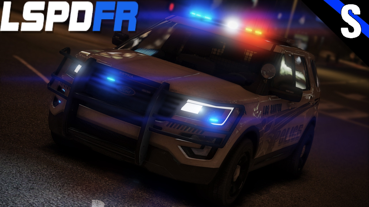 Gta v lspdfr 182 2017 ford explorer police interceptor utility