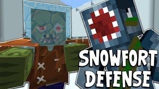 COD ZOMBIES MEETS MINECRAFT?! Custom Minecraft Map! Video