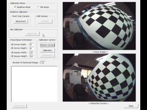 Fisheye And Omnidirectional Camera Calibration
