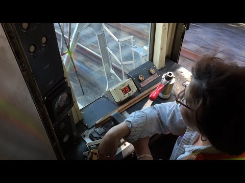 NYC Subway Nostalgia HD 60fps: R38 & R40 Slant Cab Operation (6/25/16)