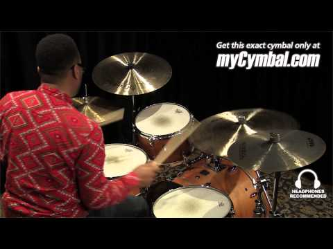 """Istanbul Agop 22"""" Signature Series Mel Lewis Ride Cymbal - Played by Terence Clark (ML22-1121113N)"""