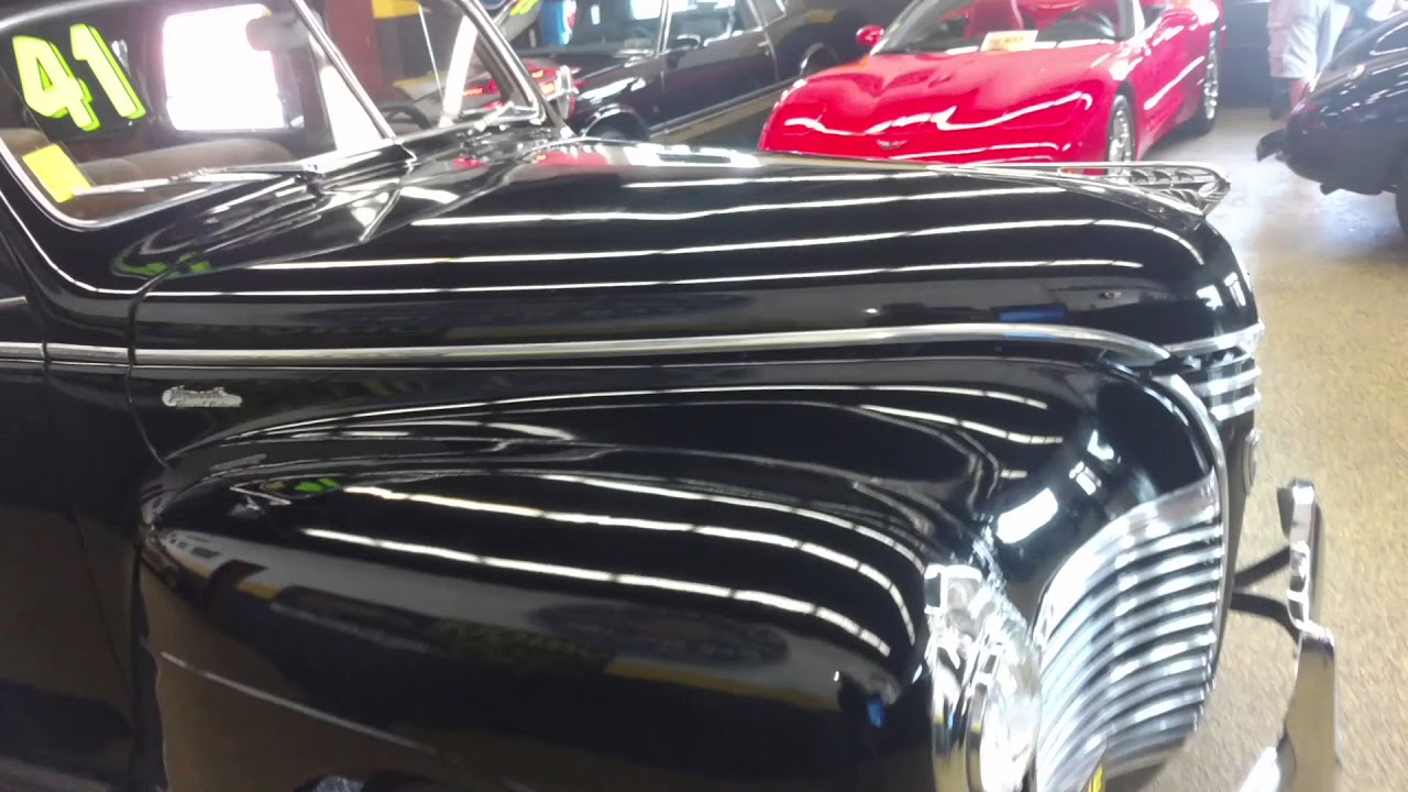 1941 Plymouth Special Deluxe 4 Door Sedan Youtube