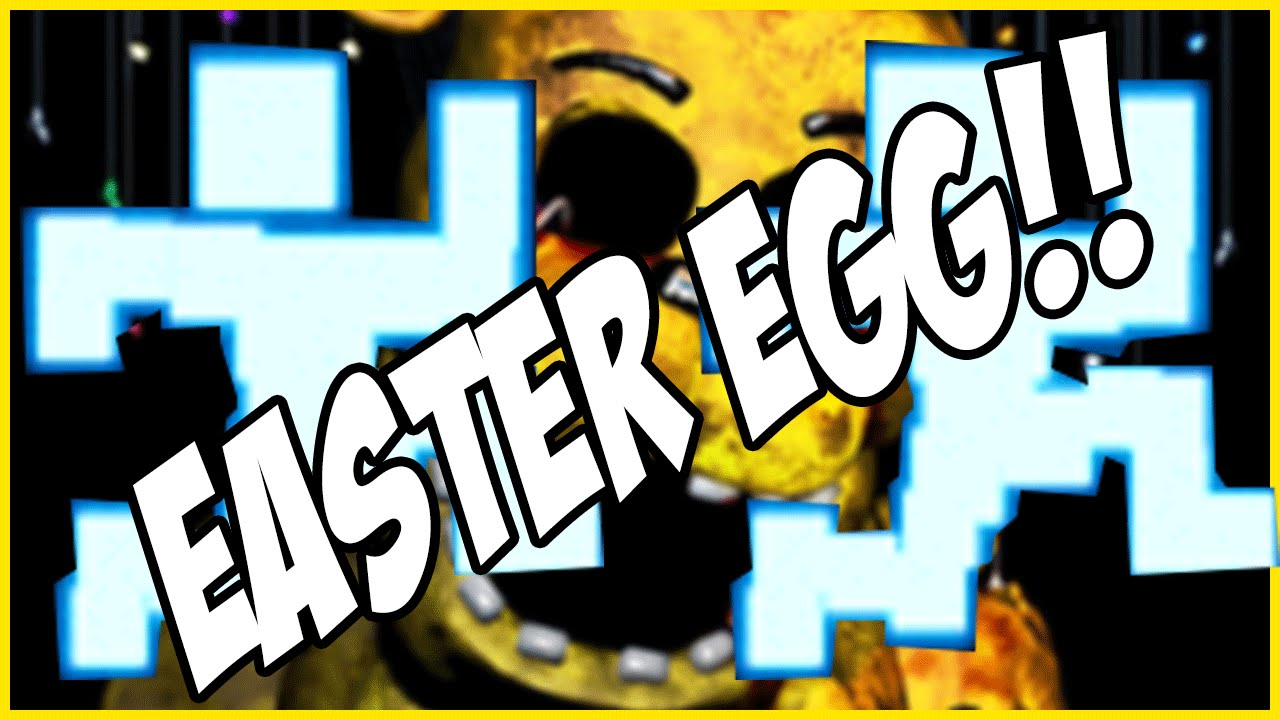 Five nights at freddys 3 easter egg quot there is no pause button