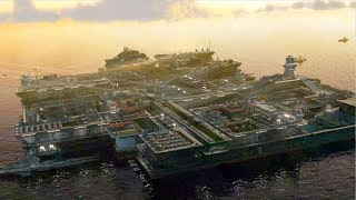 BIGGEST CARRIER EVER BUILT ON EARTH ATTACKED | Red Alert 3 Allied Campaign Gameplay