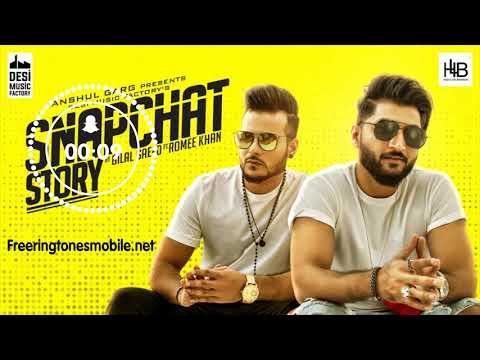 Snapchat Story Ringtone (Download Link) -Bilal Saeed ft. Romee Khan for iPhone, Android