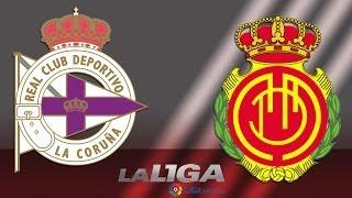 Resumen de Deportivo de La Coruña (3-1) RCD Mallorca - HD